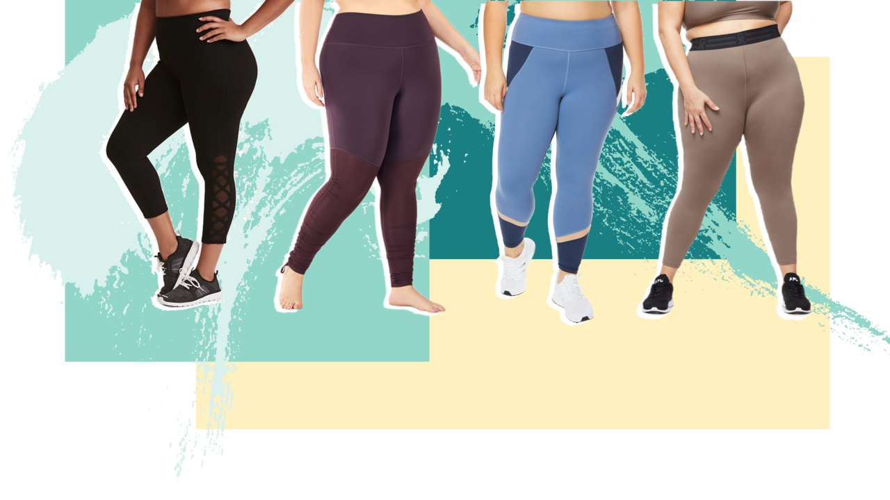 75ab4a316b The Best Plus-Size Yoga Pants
