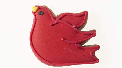 red-bird-holiday-cookie