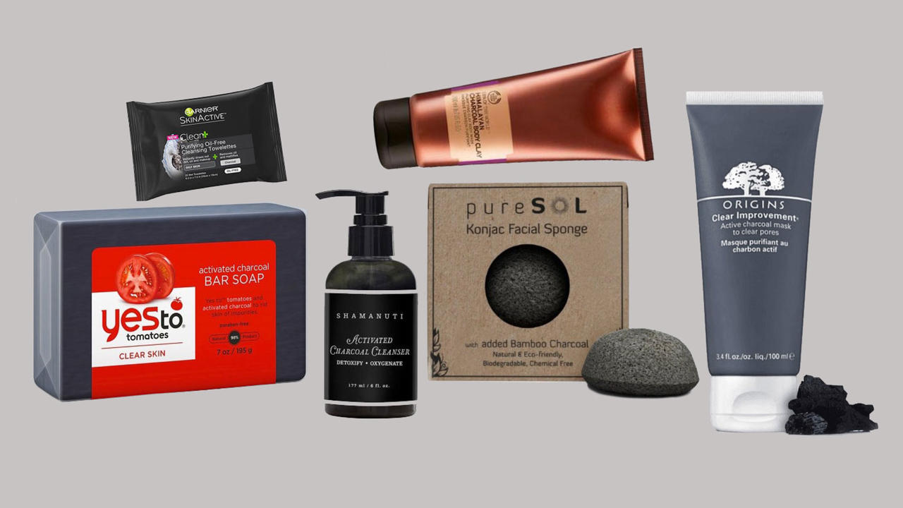8 Charcoal Beauty Products to Detox Your Skin and Hair