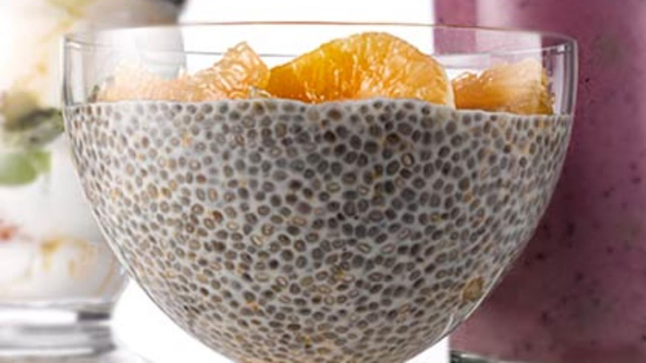 clementine chia pudding recipe health