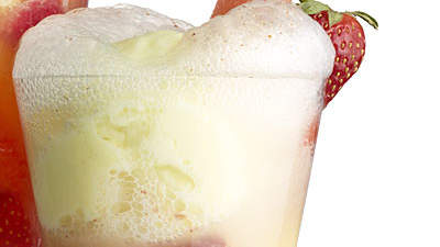 Strawberry-Watermelon Floats