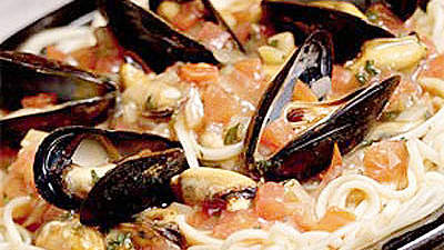 linguine-mussels