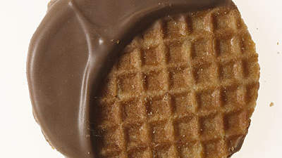 Waffle cookie: 52 calories
