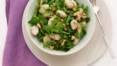 Gnocchi with Arugula and Walnuts