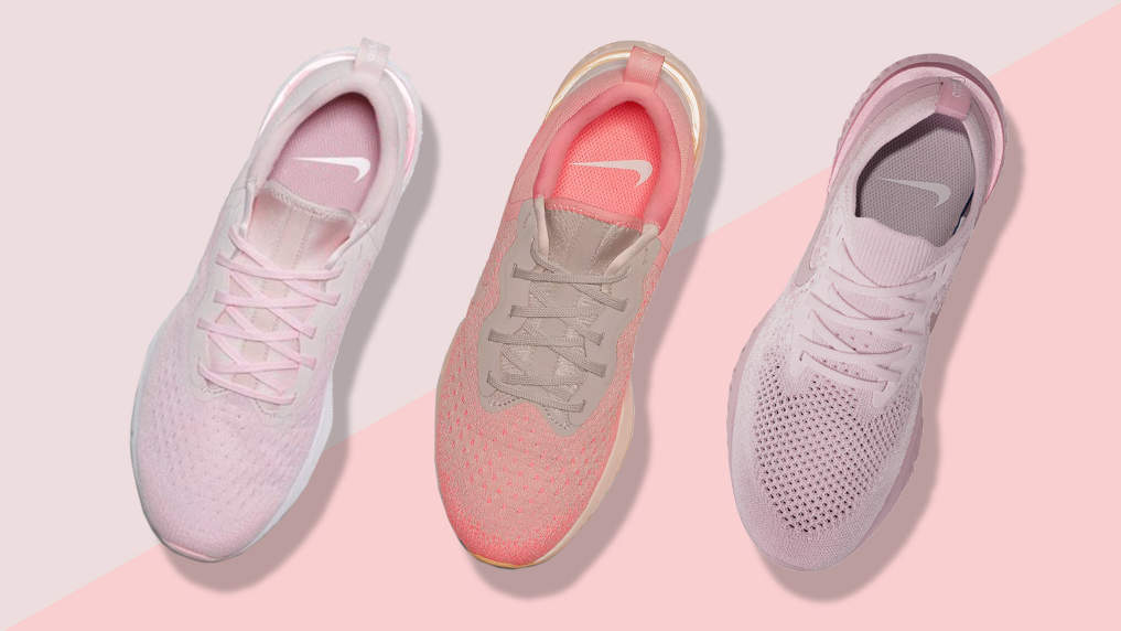 4db7f26199592 Nike Just Came Out With Millennial Pink Sneakers - Health