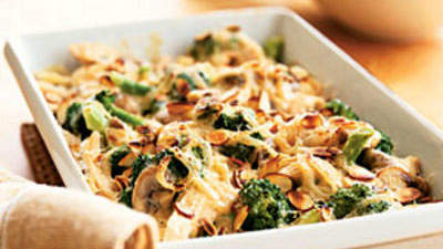 Turkey-Broccoli Bake