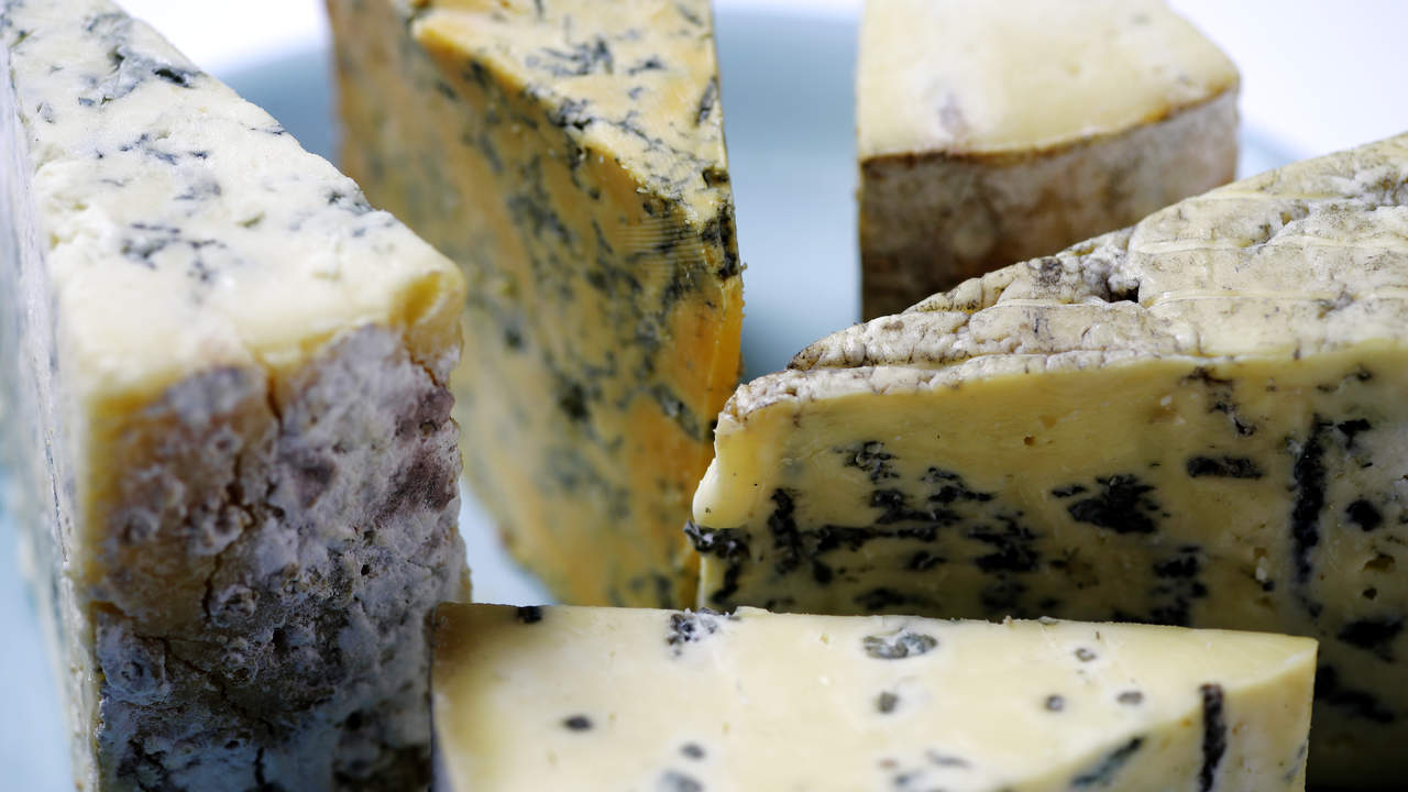 Aged cheeses