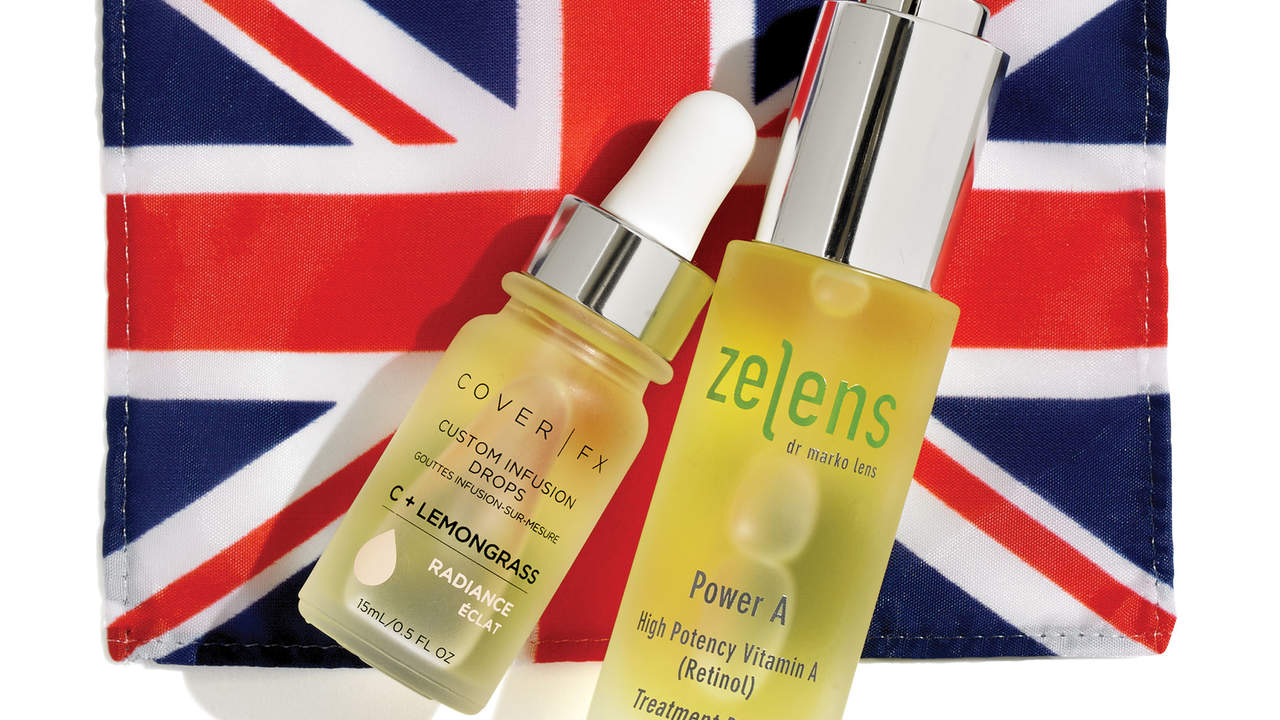 British anti-aging booster oils