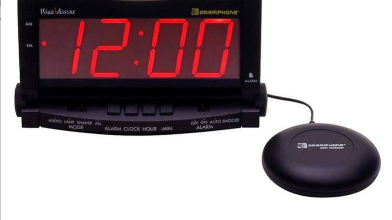 alarm clock going off at 5 30. clarity wake assure super bright alarm clock going off at 5 30