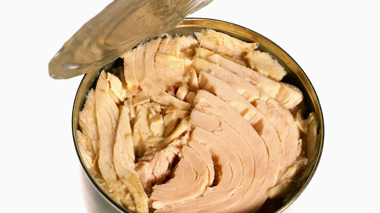 eat canned tuna