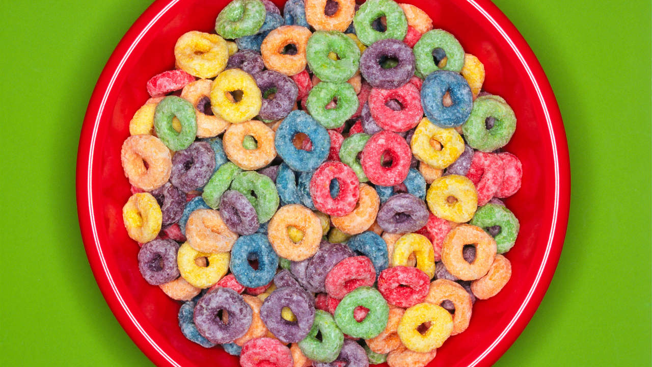 cereal can be very sugary