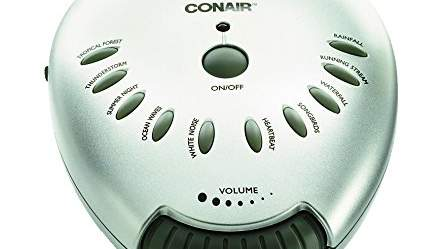 For the most bang for your buck: Conair Sound Therapy