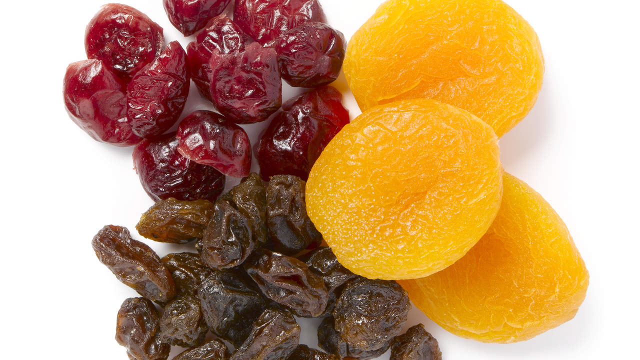 dried and canned fruit