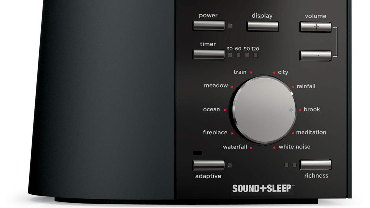 For super-clever tech: Ecotones Sound + Sleep Machine