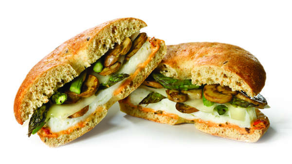 Einstein Bros Signature Asparagus and Mushroom Egg White