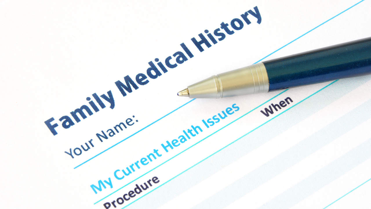 Failing to discuss family health history