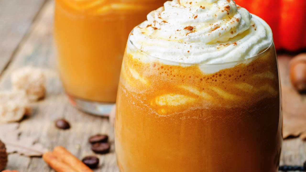 flavored coffee drinks are loaded with sugar