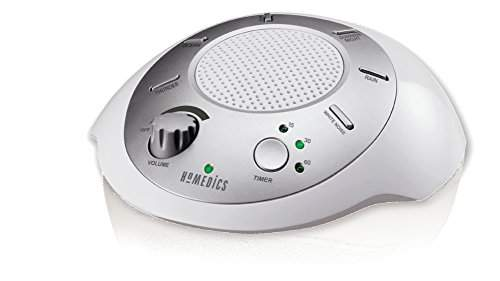 For portability: Homedics SoundSpa SS-2200