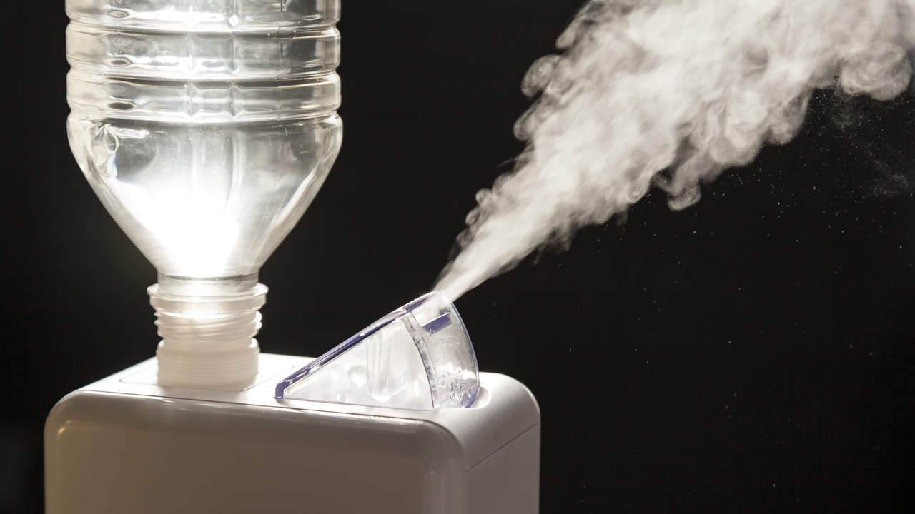 Switch on a humidifier