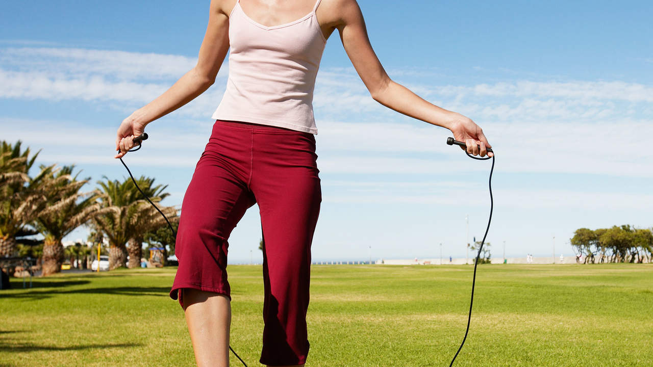 Day 24: Rock a jump-rope workout