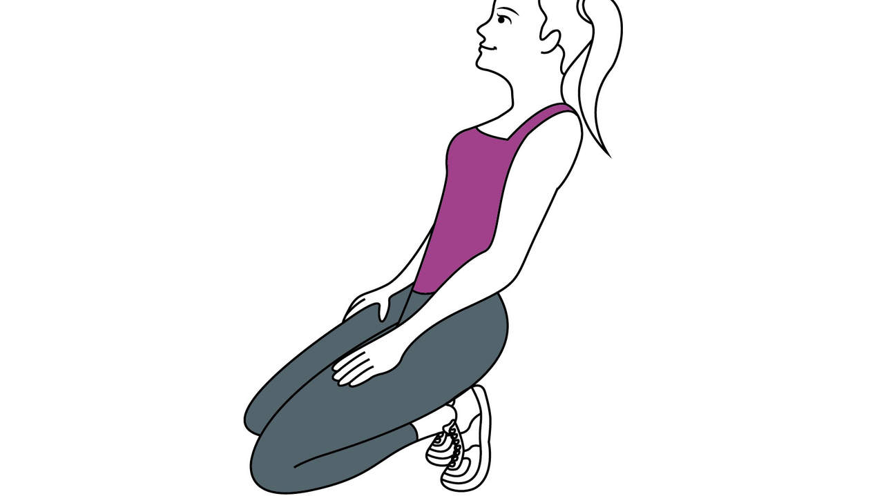 knee pain stretch