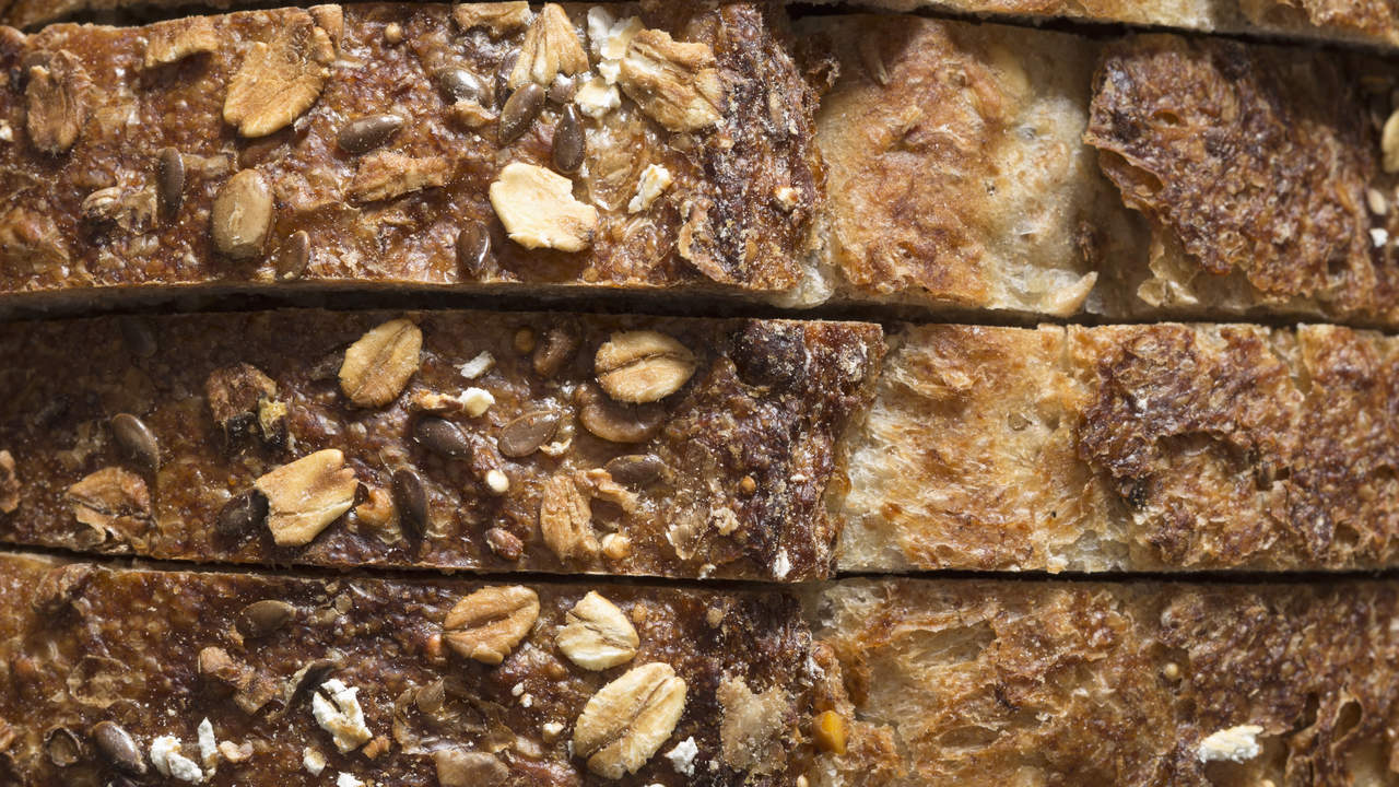 You've traded white bread for whole grains