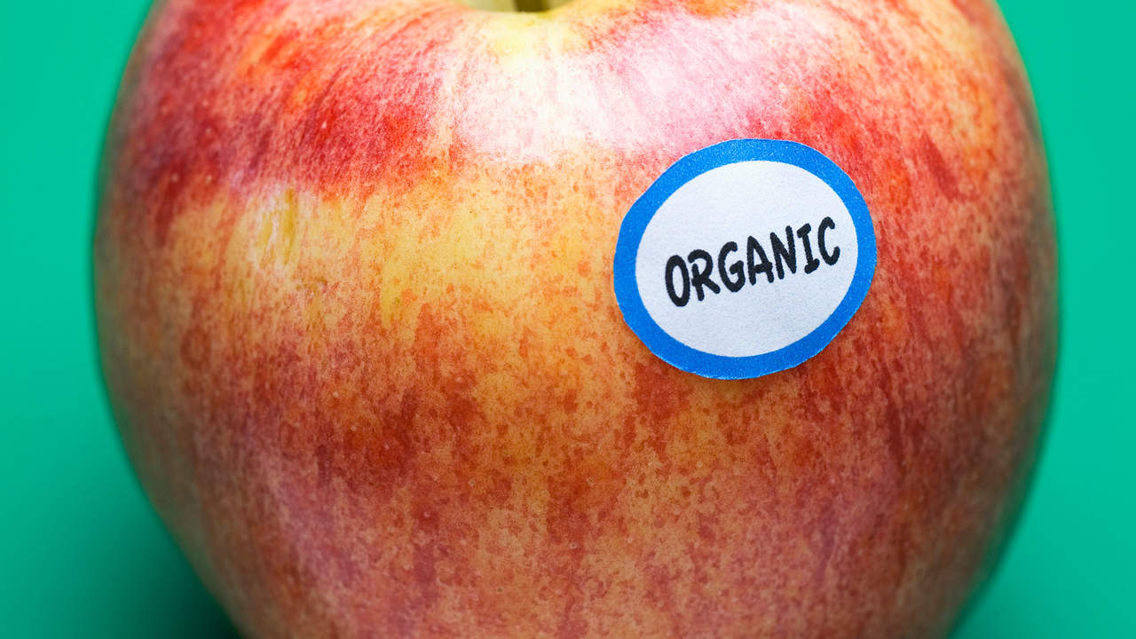 You eat only 100% organic, 100% of the time