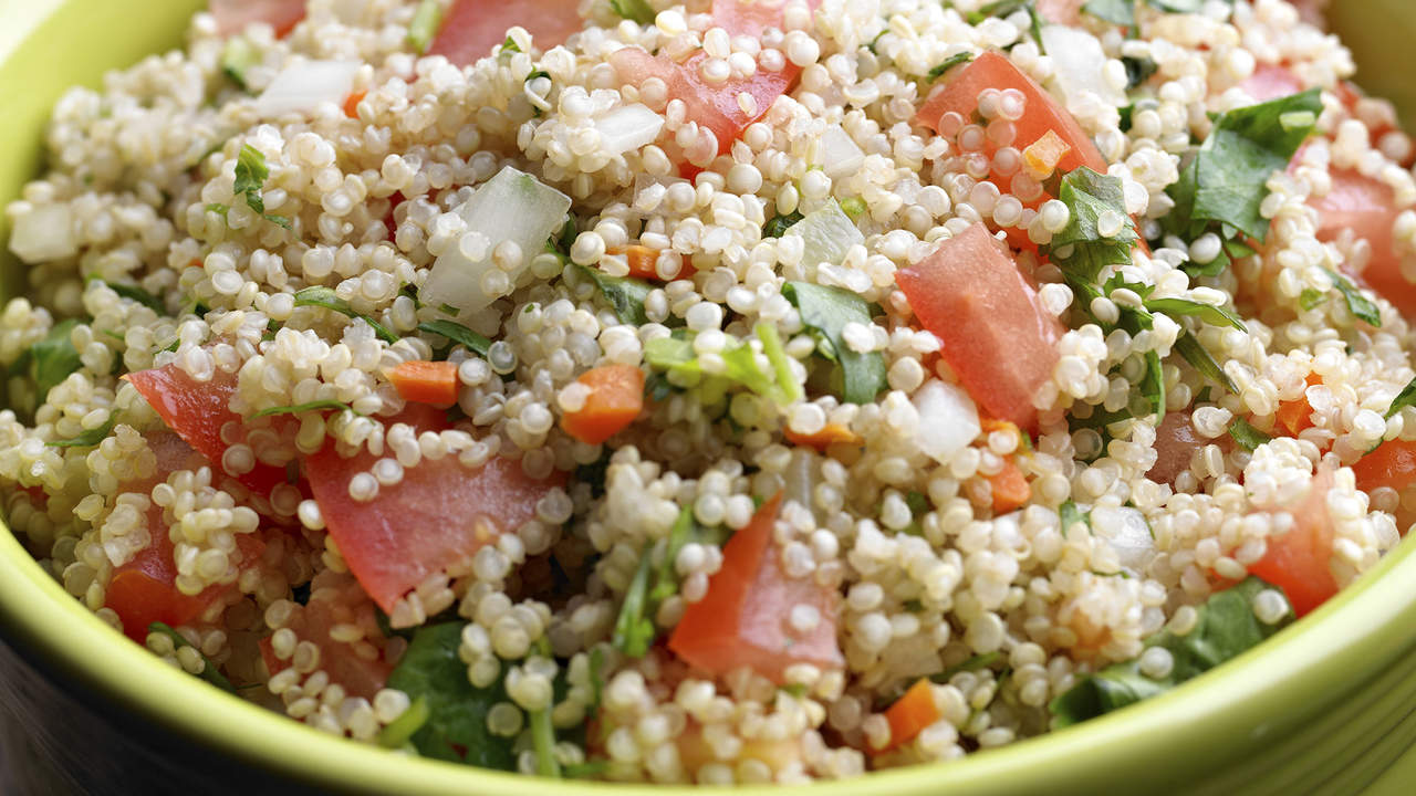 Best grain side: Quinoa