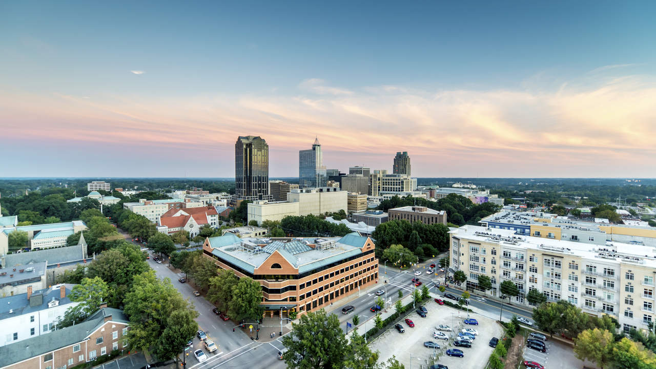9. Raleigh, North Carolina