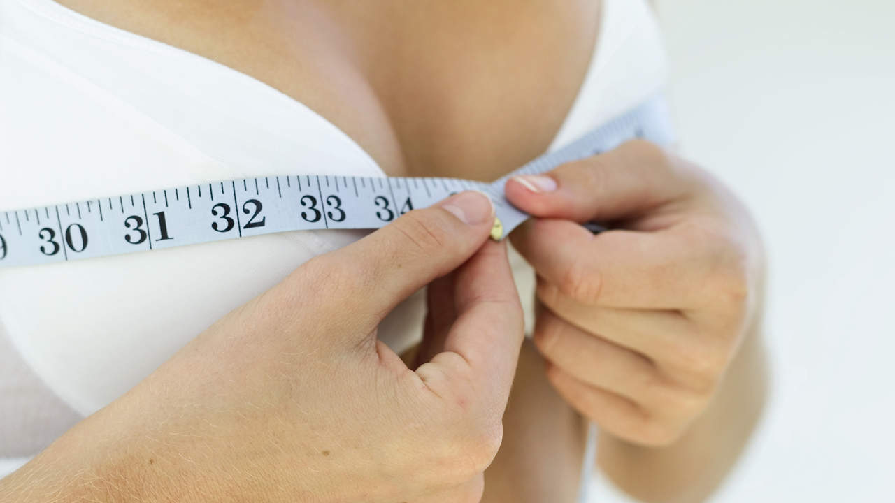 small-breast-measurement