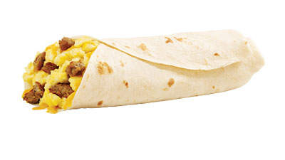 Sonic Jr. Breakfast Burrito