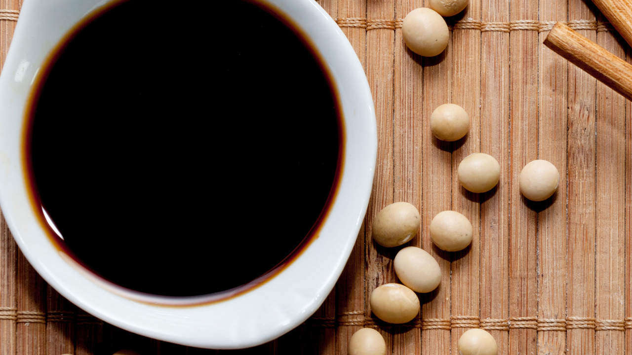 soy sauce has a lot of salt making it unhealthy