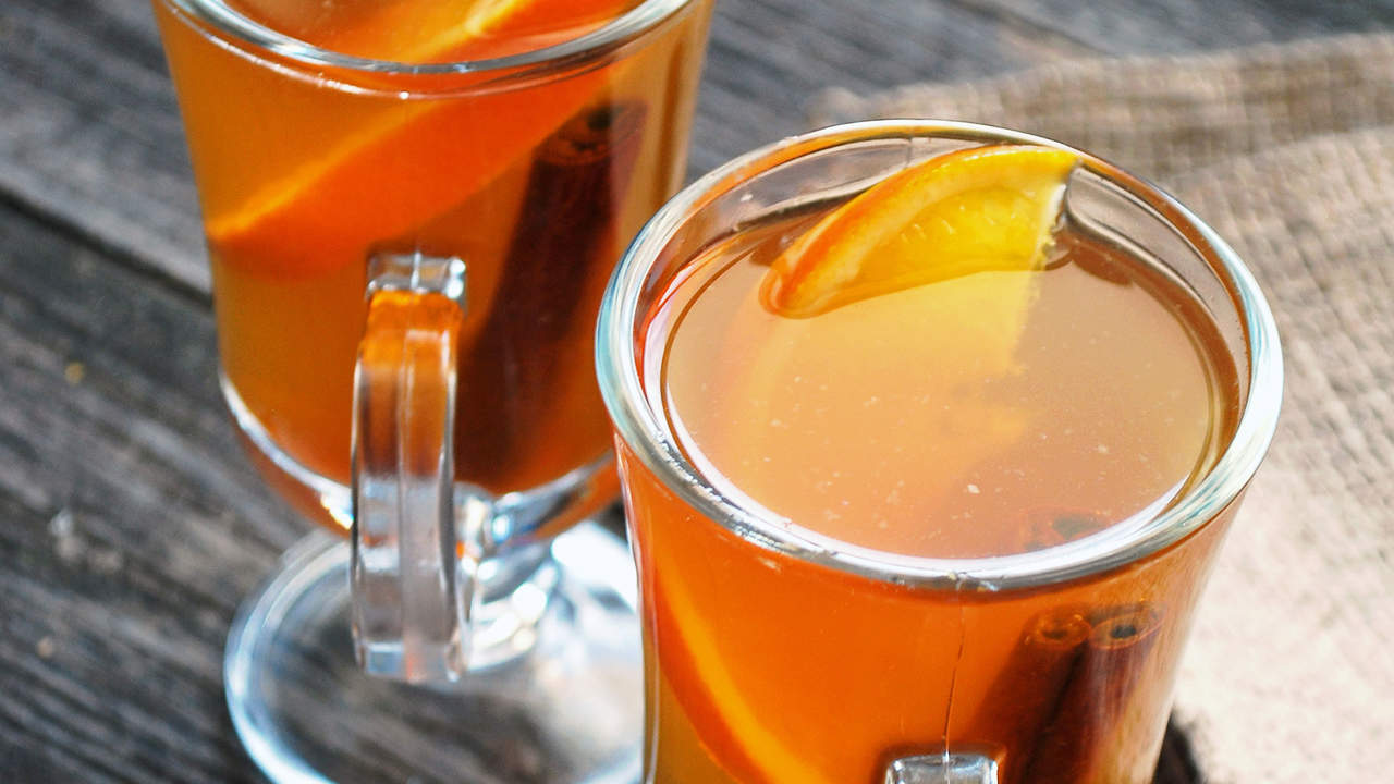 Best hot cocktail: Spiced cider