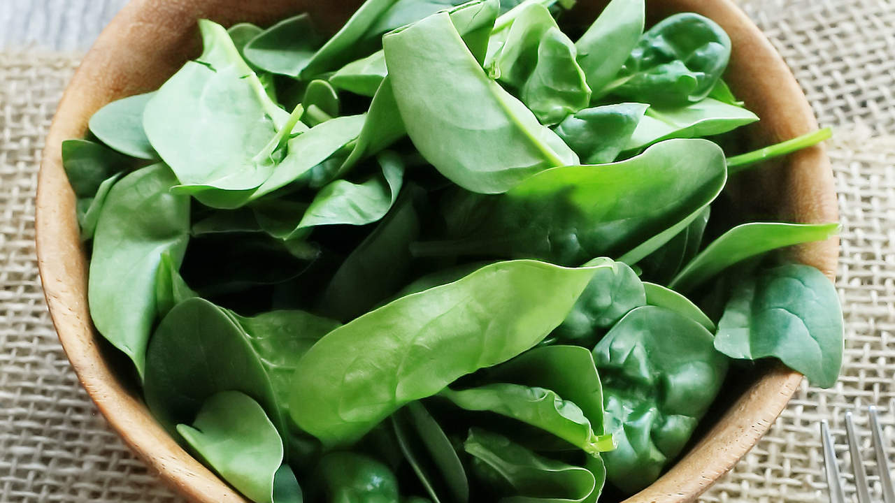 eat spinach and other leafy greens