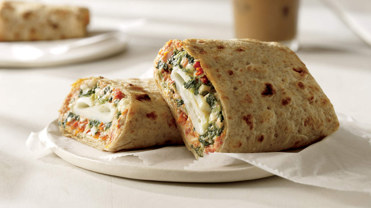 Starbucks Spinach and Feta Breakfast Wrap