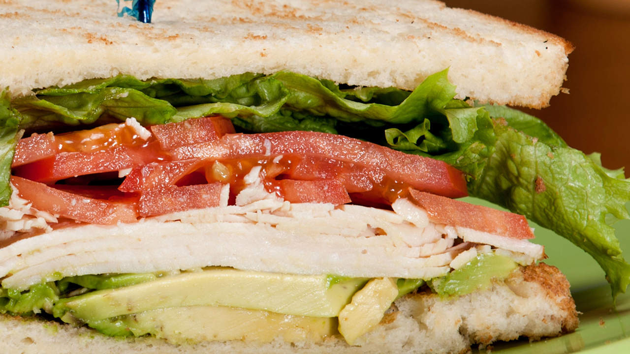 Instead of: Panera Roasted Turkey, Apple & Cheddar Sandwich
