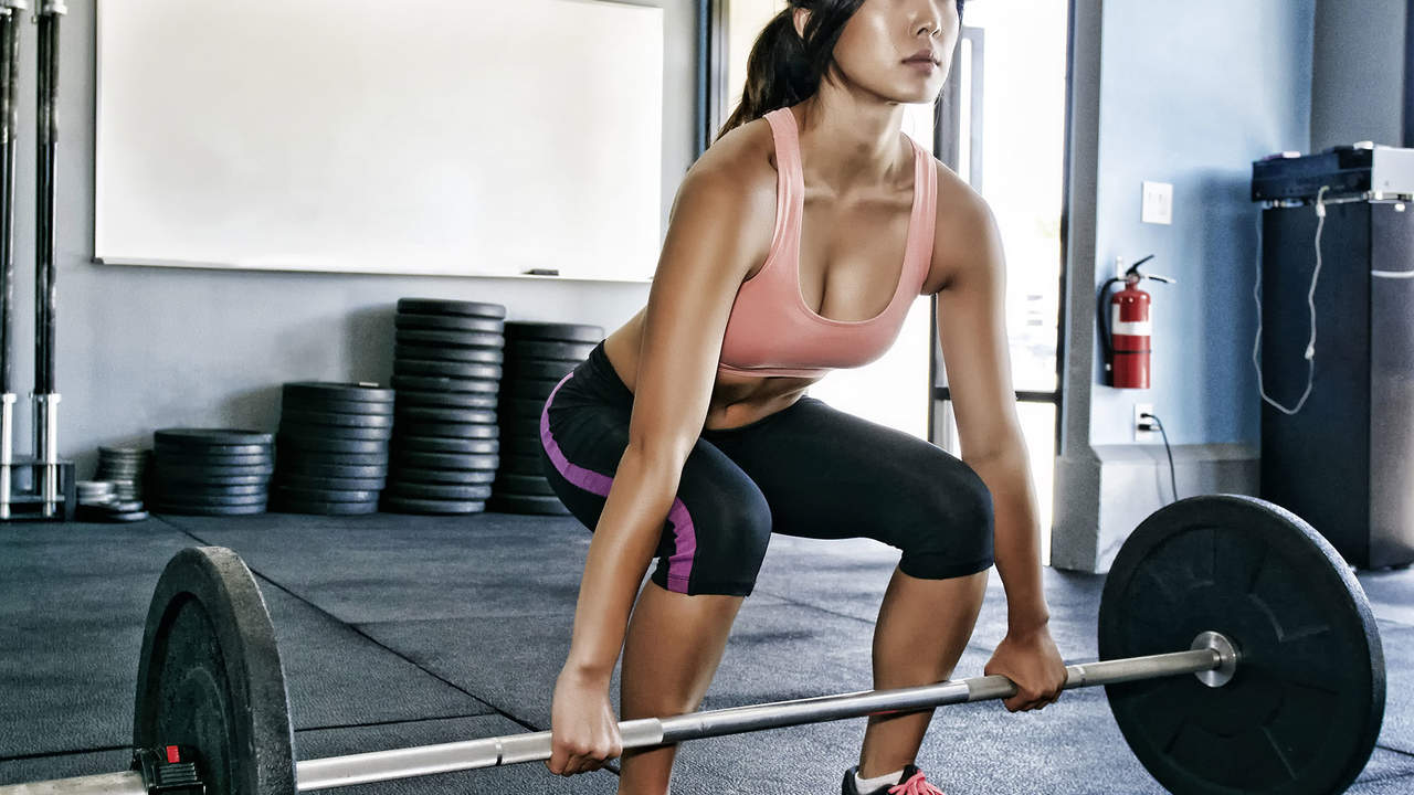 add lifting weights to your workout