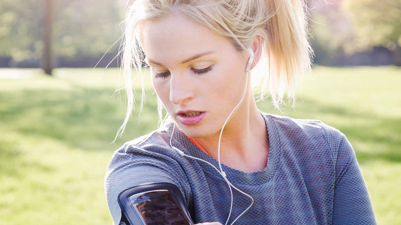 make a workout playlist