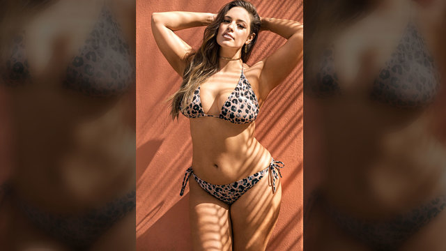 7ebf259c60a Ashely Graham Launches Second Curvy Swimsuit Collection With ...
