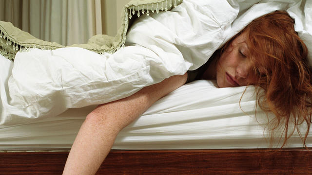 What can adults do to sleep through the night?