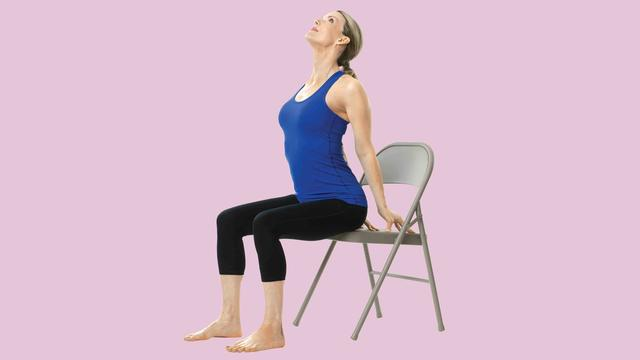 The Best Chair Yoga Moves To Combat Back Pain Health