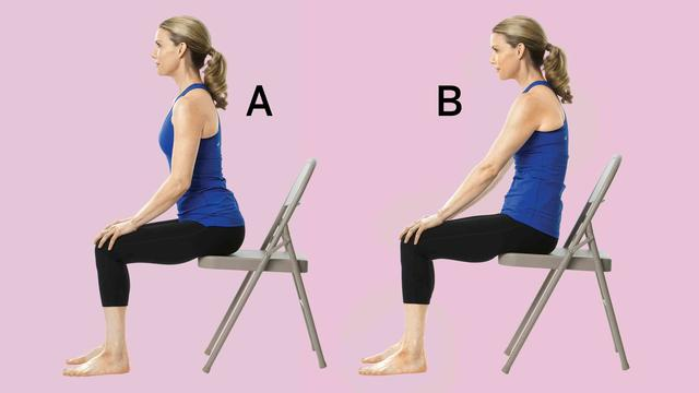 the best chair yoga moves to combat back pain - health