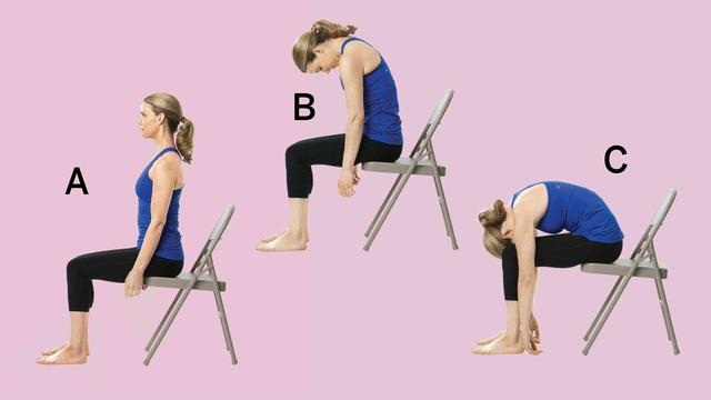 The Best Chair Yoga Moves To Combat Back Pain Health Com
