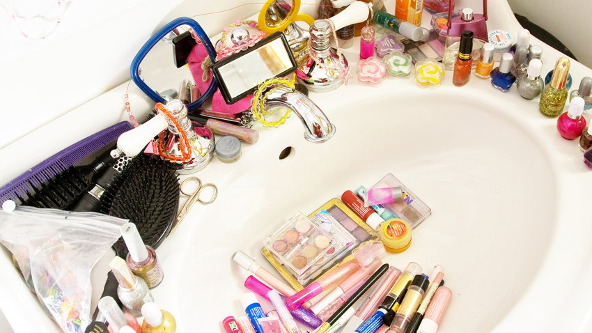 Beauty Organizer Makeup Bathroom
