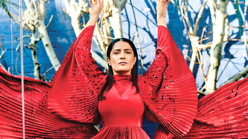 Salma Hayek on Aging Naturally: 'I Want to Look Like a Lovely Lady When I'm 70'