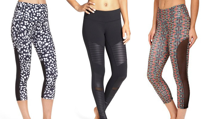 Best Mesh Workout Leggings For Fall - Health.com