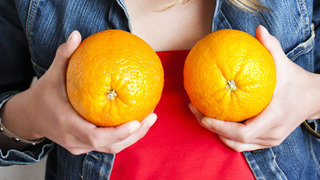 bump-nipples-orange-fruit-breasts
