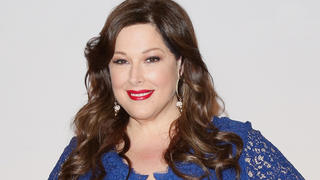 carnie-wilson-blue-dress