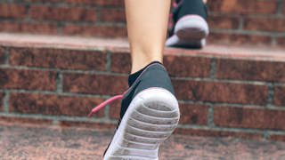 running-sneaker-outdoors