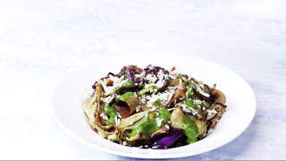 Eggplant Pappardelle-video